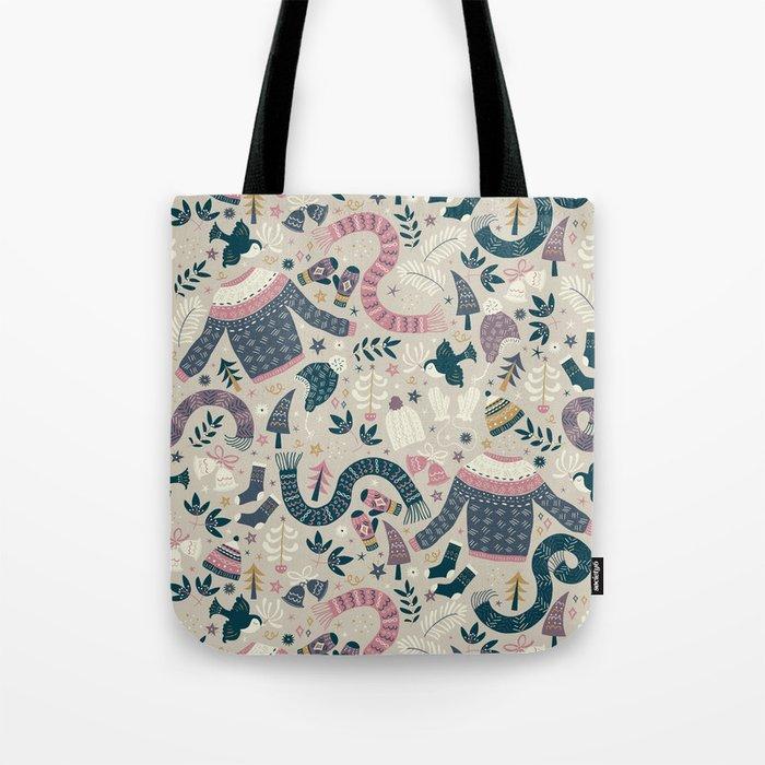 Winter Woolies Tote Bag