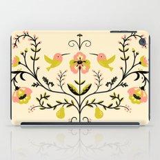Hummingbirds and Pears iPad Case