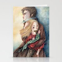 les miserables Stationery Cards featuring les miserables by Fabiana Attanasio