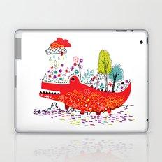 Croco-Nature Illustration Laptop & iPad Skin