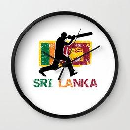 Sri Lanka Cricket, Sri Lanka Cricket Gift Wall Clock