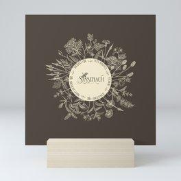Dear Sassenach in Sepia Mini Art Print