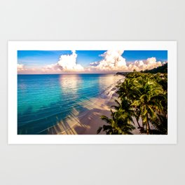 Tropical Sunrise Art Print