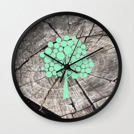 Last tree (designer) Wall Clock