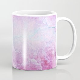 Enigmatic Pink Purple Blue Marble #1 #decor #art #society6 Coffee Mug