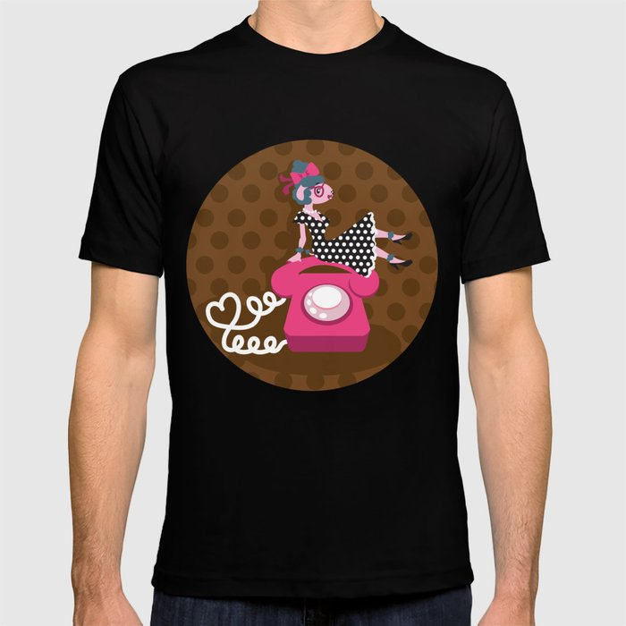 rockabilly love T-shirt