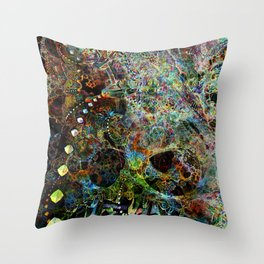 Q21Hybrid6-Squared Throw Pillow