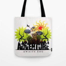 Adventure Awaits You Tote Bag