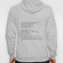 Serenity Prayer #minimalism Hoody