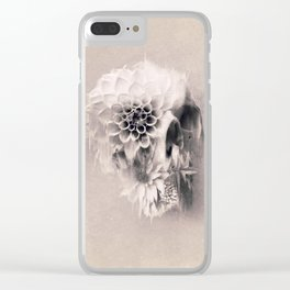 Decay Skull Light Clear iPhone Case