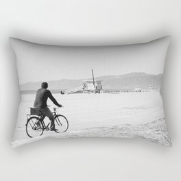 A Very Nice Ride in Venice Rectangular Pillow