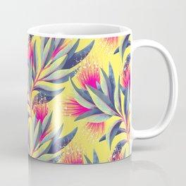 Pohutukawa - Yellow / Pink Coffee Mug