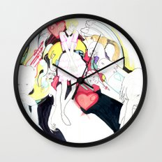 Whe love Fashion 2 Wall Clock