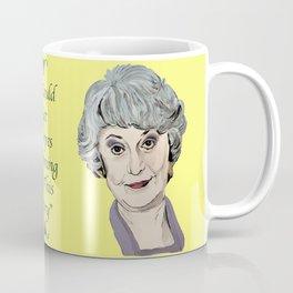 Dorothy Zbornak from The Golden Girls (Yellow) Coffee Mug