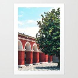 AREQUIPA LUCES Art Print