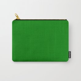 Green - solid color Carry-All Pouch