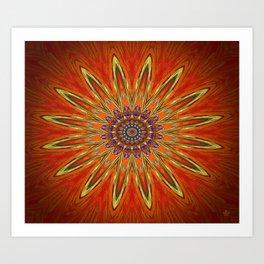 Symmetric composition 29 Art Print