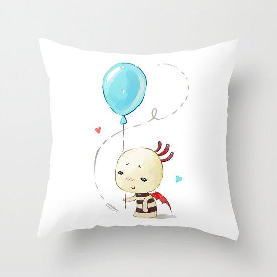 Balloon 2 Throw Pillow