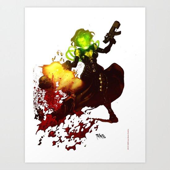 Anne Frankenstein AF2 Art Print