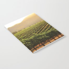 Wine Country Morning Notebook