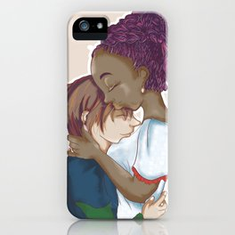 Embracing Me iPhone Case