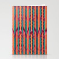 knitting Stationery Cards featuring Knitting Flames by VessDSign