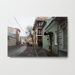 Small Lane Of Moscow Metal Print