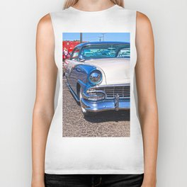 blu crown vic  Biker Tank