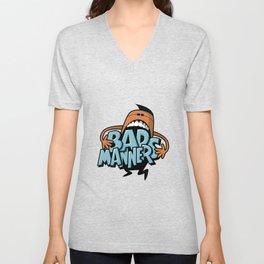 Bad Manners Unisex V-Neck