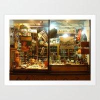 Shop Window, San Telmo, Buenos Aires Art Print