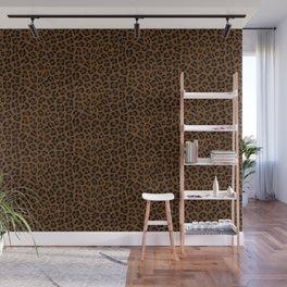 Leopard Print - Dark Wall Mural