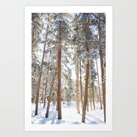 narnia Art Prints featuring Narnia by Alyson Cornman Photography