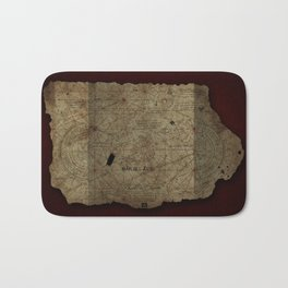 Goonies Treasure Map Bath Mat