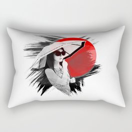 Japan - Cosmopolitan girl in Kyoto Rectangular Pillow