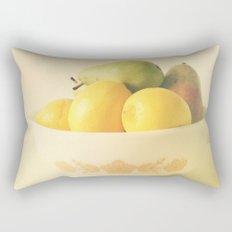 Retro Fruit Rectangular Pillow
