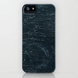 Wooden Dark iPhone Case
