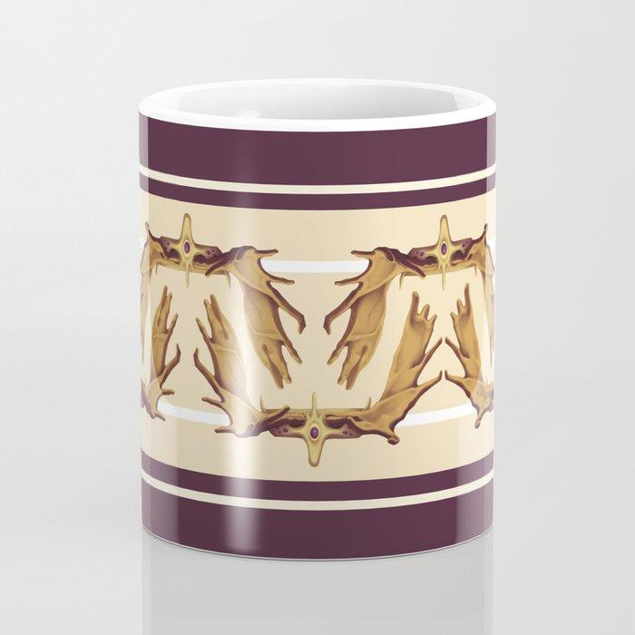 Moose Antler Crown Coffee Mug