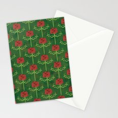 Spring Roses Pattern Stationery Cards