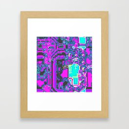 CGA style Framed Art Print