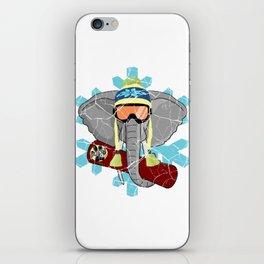 Elephant Snowboard | DopeyArt iPhone Skin