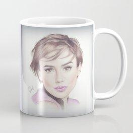Lily Collins  Coffee Mug