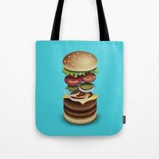The Perfect Burger Tote Bag