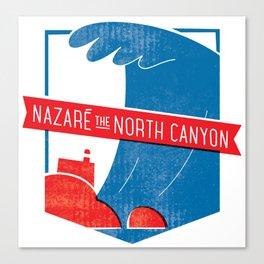 Nazaré - The North Canyon Canvas Print
