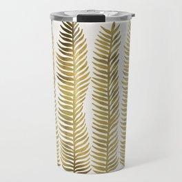 Golden Seaweed Travel Mug