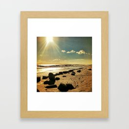 My time with you Framed Art Print