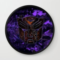Autobots Abstractness - Transformers Wall Clock