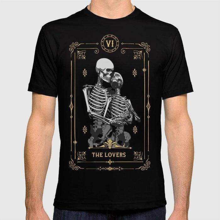 The Lovers VI Tarot Card T-shirt by grandeduc
