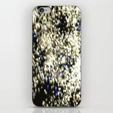 Fireworks Blue iPhone & iPod Skin