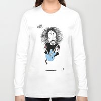dave grohl Long Sleeve T-shirts featuring Dave Grohl  by L O L A S O Y