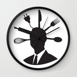 Universal Man Wall Clock